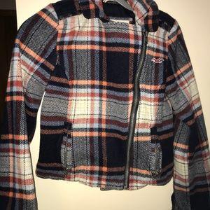 Hollister Jackets & Coats - Hollister Plaid Womens Jacket Coat